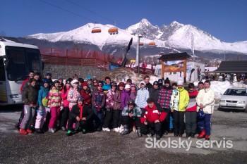 Máme za sebou lyžiarsky so skvelým programom