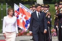 Zuzana Čaputová sa stretla so slovinským prezident