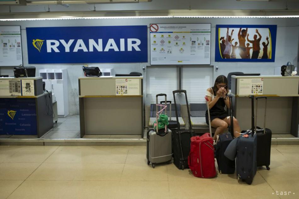 78750240797a2 Ryanair zruší 190 letov kvôli štrajku palubného personálu
