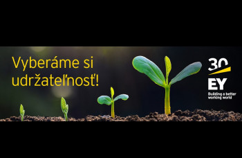 EY už 30 rokov tvorí na Slovensku udržateľný svet