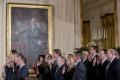 V Bielom dome zložilo prísahu 30 Trumpových poradcov