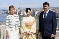 Japonská princezná v Budapešti