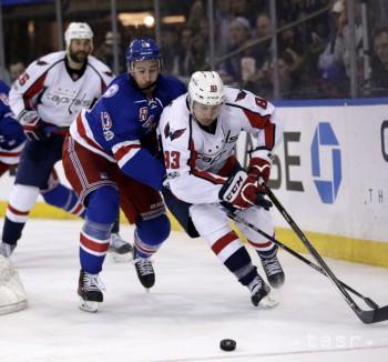 NHL: New York Rangers pokoril lídra z Washingtonu 2:1 v domácej MSG