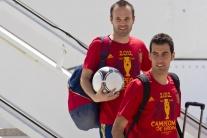Domáce privítanie futbalových majstrov Európy