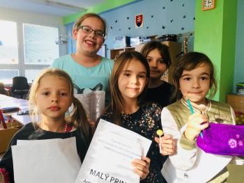 Malý princ očami školákov z Klubu nadaných detí v Prešove