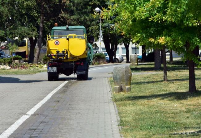 Prosba pomôcť mestu pri polievaní stromčekov Skaličanov neoslovila