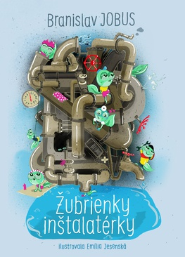 B. Jobus napísal novú detskú knihu o žubrienkach, ktoré plnia želania