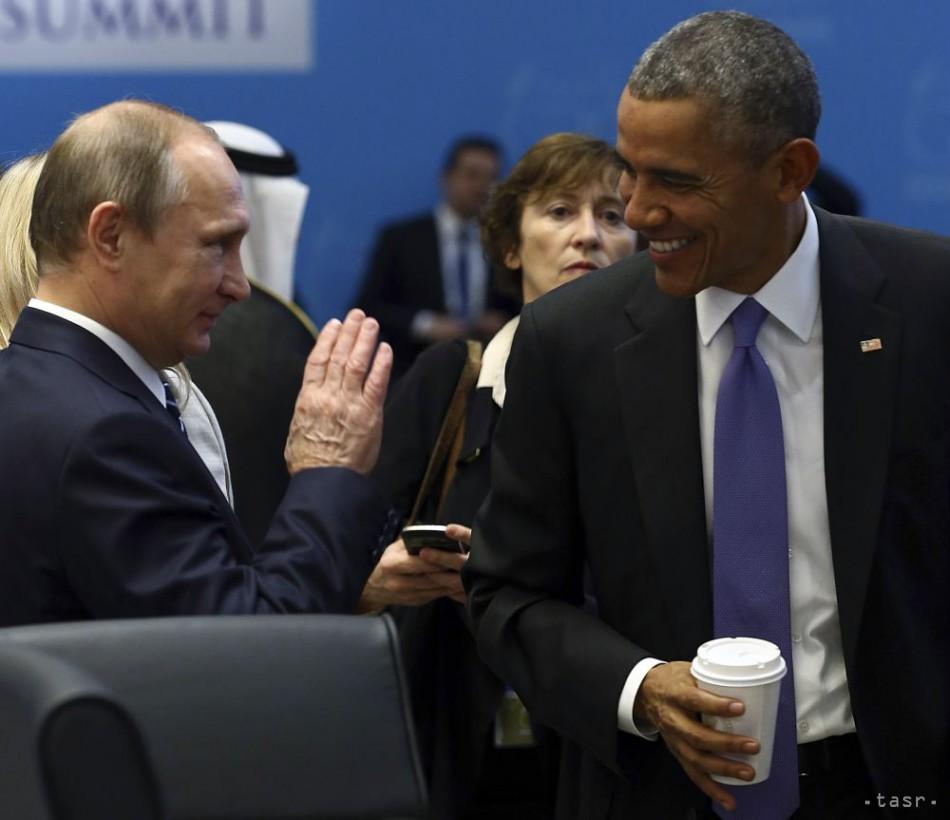Putin a Obama sa zhodli na dôležitosti spoločného boja proti ISIS