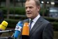 Predseda Európskej rady Tusk požaduje rýchlu dohodu o pomoci Grécku