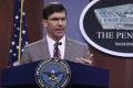 Minister obrany Esper odmieta nasadenie armády voči protestujúcim