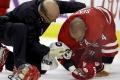 NHL: Sekera sa zranil pri blokovaní strely