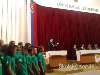 Promócie po Detskej lesníckej univerzite bude mať ďalších 45 žiakov