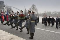 Andrej Babiš, Robert Fico, návšteva, pamätník