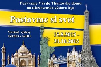 Prvá výstava LEGA aj s modelmi slovenských historických objektov