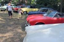Výstava historických vozidiel