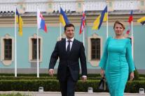 Zuzana Čaputová a Volodymyr Zelenský