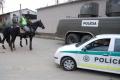 Polícia absolvuje cvičenie zamerané na presun účastníkov predsedníctva