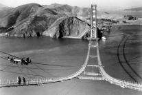 Slávny kalifornský most Golden Gate oslavuje 75 ro