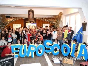 Cirkevné gymnázium sv. Františka z Assisi sa zapojilo do Euroscoly