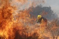 požiar kalifornia