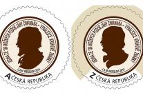 Génius Jára Cimrman je už na oválnej známke, ktorú vydala Česká pošta