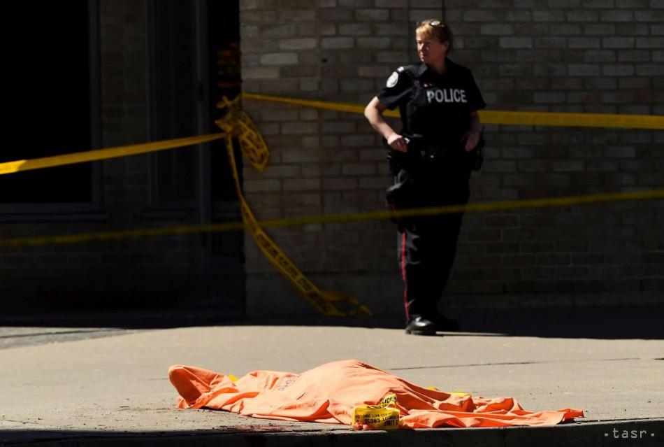Vodiča dodávky, ktorý v Toronte zrážal chodcov, obvinili z 10 vrážd