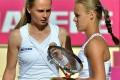 Rybáriková so Schmiedlovou neuspeli v 1. kole štvorhry Roland Garros