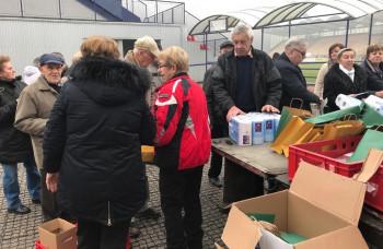 Viac ako 5000 členov OZ Ružomberčan si prevzalo vianočné darčeky