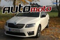 Škoda Octavia RS: Športová a agresívna, no nepotrebuje veľa paliva