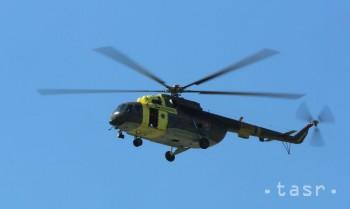 Do Leteckých opravovní priviezli na opravu vrtuľník z Afganistanu