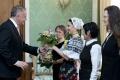 VIDEO: A. Kiska obedoval so ženami: Zaslúžia si úctu nielen na MDŽ
