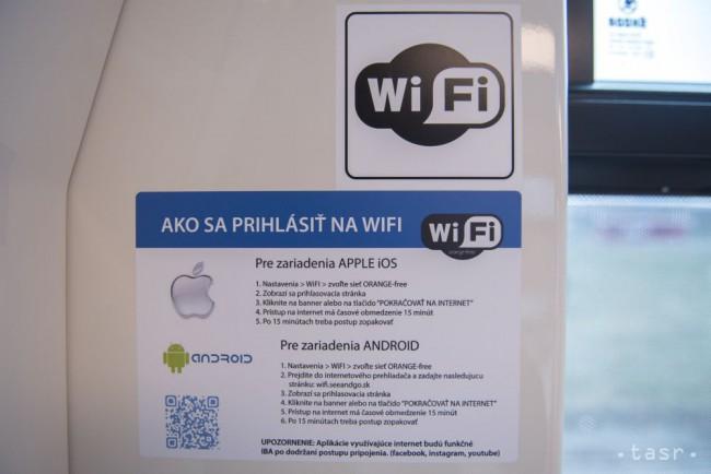 Phone je pripojený k Wi-Fi sieti.