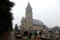 neorománsky kostol z 30-tych rokov 20-teho storoči