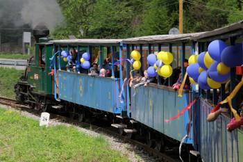 Detská železnica oslávi 62. výročie víkendovým programom