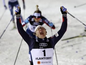 Lyžovanie-MS: Talian Pellegrino a Nórka Fallová triumfovali v šprinte