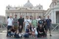 Katedra histórie na exkurzii v Ríme