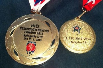 Juniori AS Trenčín vyhrali Česko-slovenský pohár
