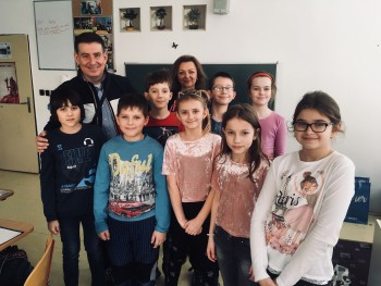 Televízny redaktor Patrik Herman navštívil prešovských školákov