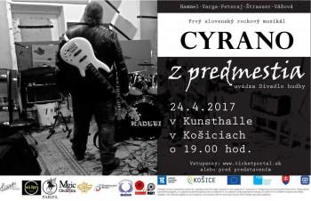 Košické Divadlo hudby prináša Cyrana z predmestia