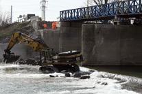 Rekonštrukcia mosta v Strážskom