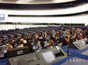 Na návšteve  Európskeho parlamentu v Štrasburgu
