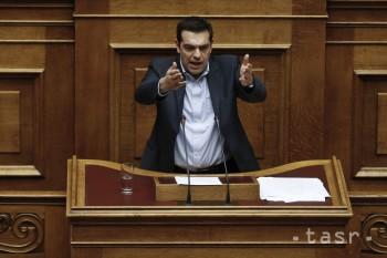Tsipras:Sever Európy musí peniazmi pomôcť juhu znižovať nezamestnanosť