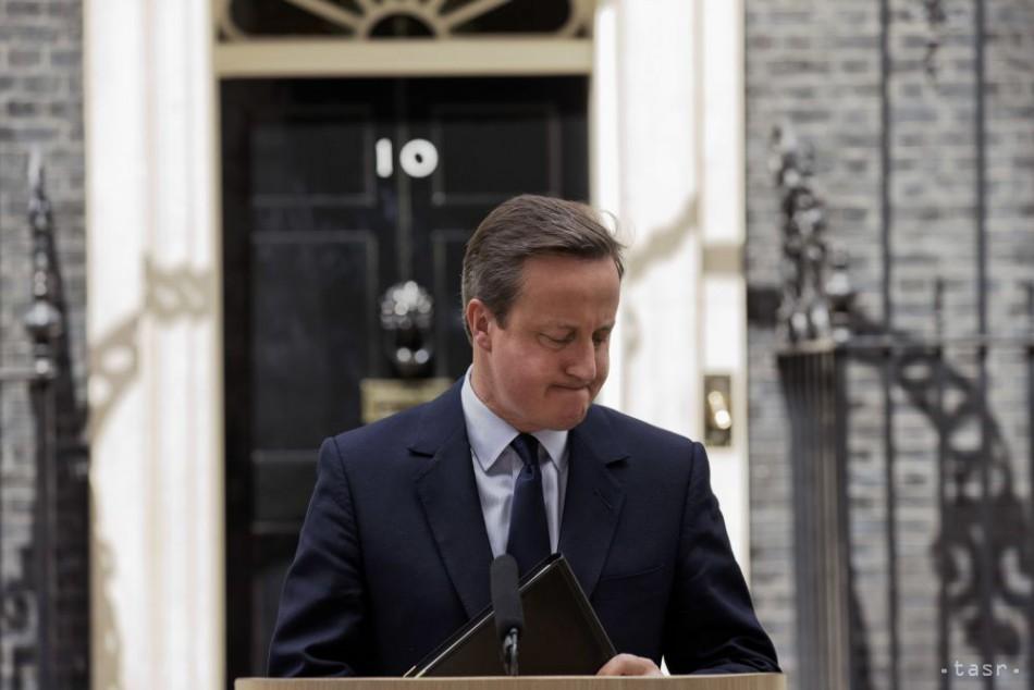 VIDEO: Britský premiér David Cameron odstúpi z funkcie v októbri