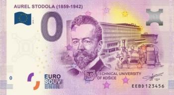 Košice: TU si pripomenie A. Stodolu aj vydaním nulovej eurobankovky