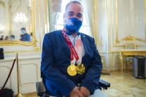 Zuzana Čaputová prijala členov slovenskej paralymp