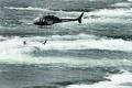 Akrobatka predviedla adrenalínové vystúpenie nad Niagarskými vodopádmi