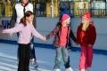 Centrum Prievidze oživila aj tento rok mobilná ľadová plocha