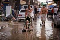 Dážď si vyžiadal hrozné škody