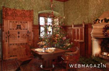 K vianočnej výzdobe Bojnického zámku môžu prispieť i návštevníci