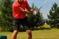 Legendárny Peter Bondra hral v Tatrách golf aj so synmi